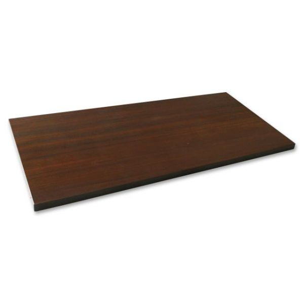 Lorell Espresso Laminate Lateral File Top