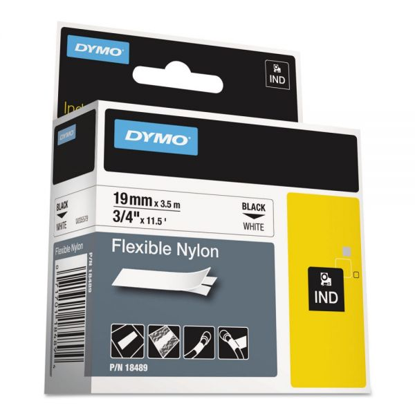 Dymo IND Rhino Flexible Nylon Industrial Label Tape