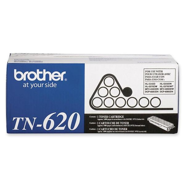 Brother TN620 Black Toner Cartridge