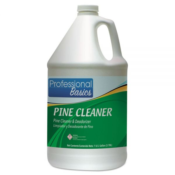 Theochem Laboratories Professional Basics Pine Cleaner, Pine Scent, 1 gal Bottle