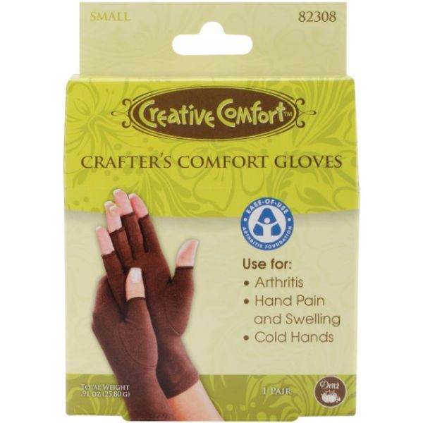 Creative Comfort Crafter's Comfort Gloves 1 Pair