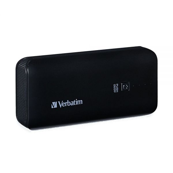 Verbatim Portable Power Pack, 4400mAh - Black