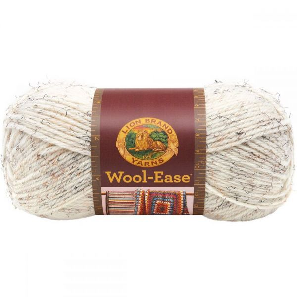 Lion Brand Wool-Ease Yarn - Wheat
