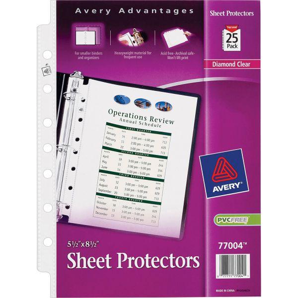 Avery Top Loading Sheet Protectors