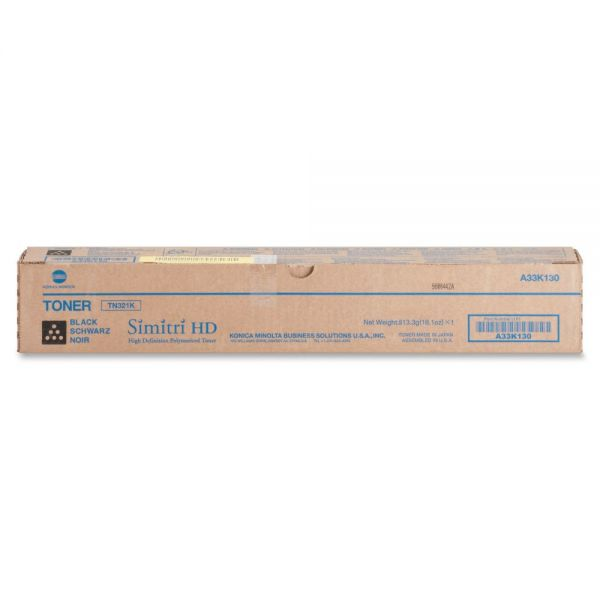 Konica Minolta TN321K Black Toner Cartridge