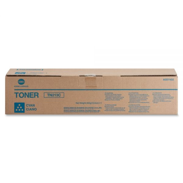 Konica Minolta TN-213C Cyan Toner Cartridge