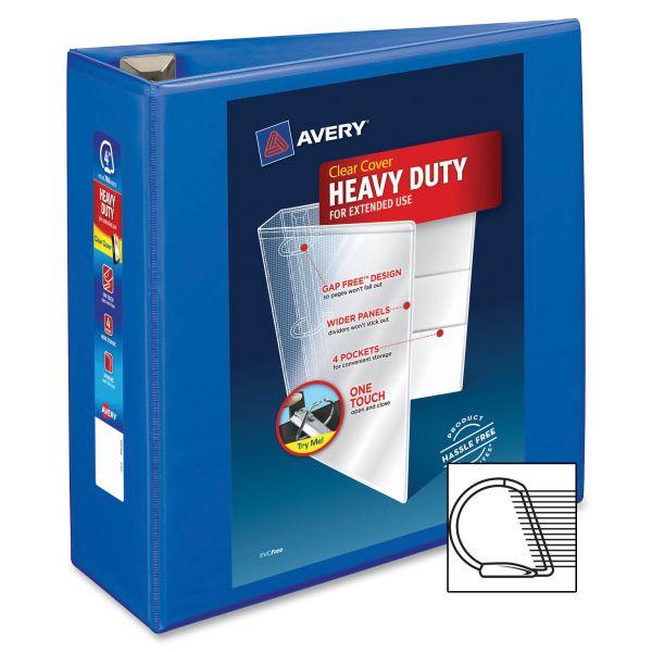 "Avery Heavy-Duty 4"" 3-Ring View Binder"