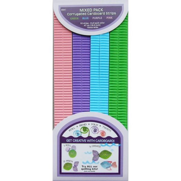 "Quilling Paper Corrugated 18.5""X10mm 32/Pkg"