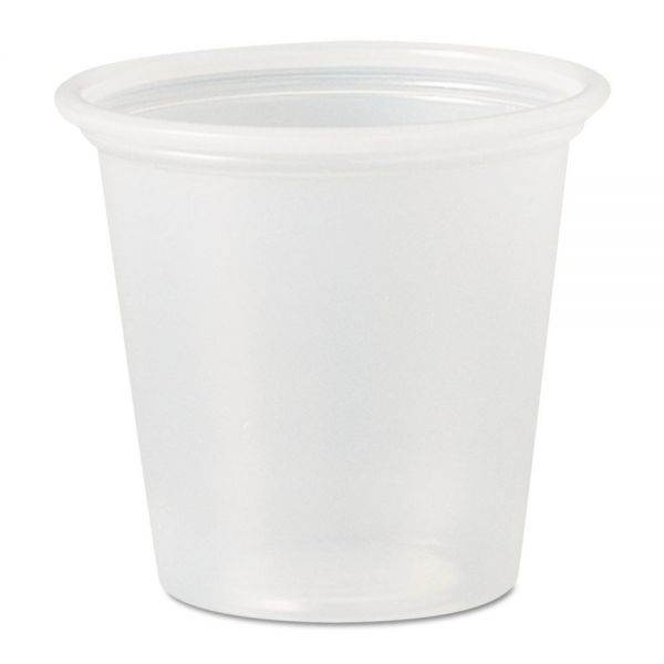 SOLO Cup Company 1.25 oz Plastic Portion Cups