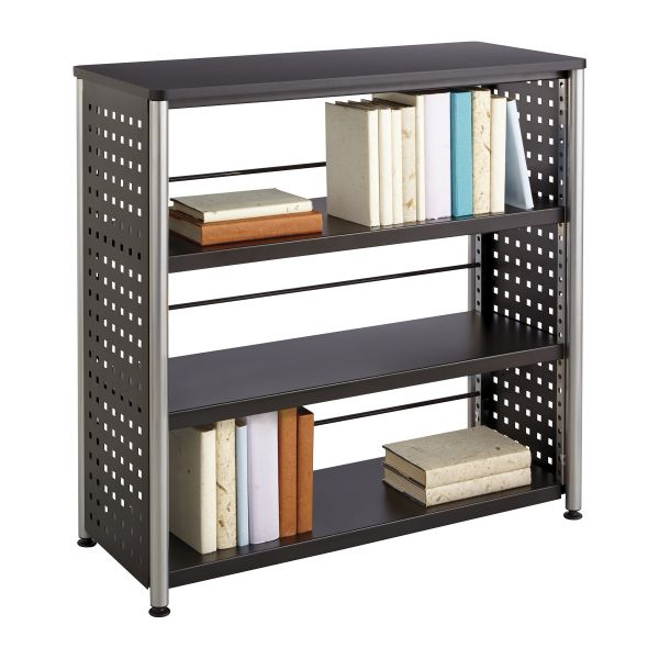 Safco Scoot 3-Shelf Metal Bookcase