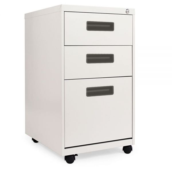 Alera Three-Drawer Mobile Pedestal File