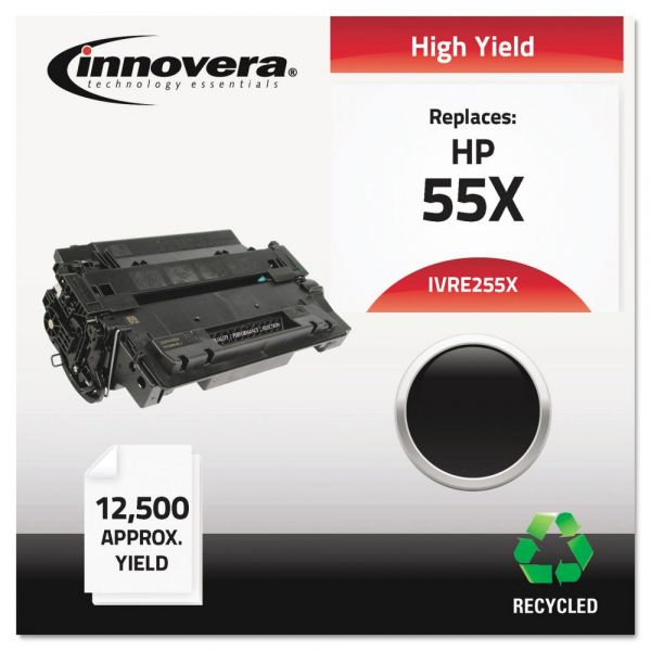 Innovera Remanufactured HP 55X High Yield Toner Cartridge