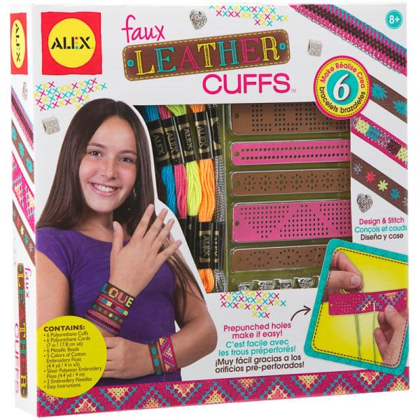 ALEX Toys Do-It-Yourself Faux Leather Cuffs Kit