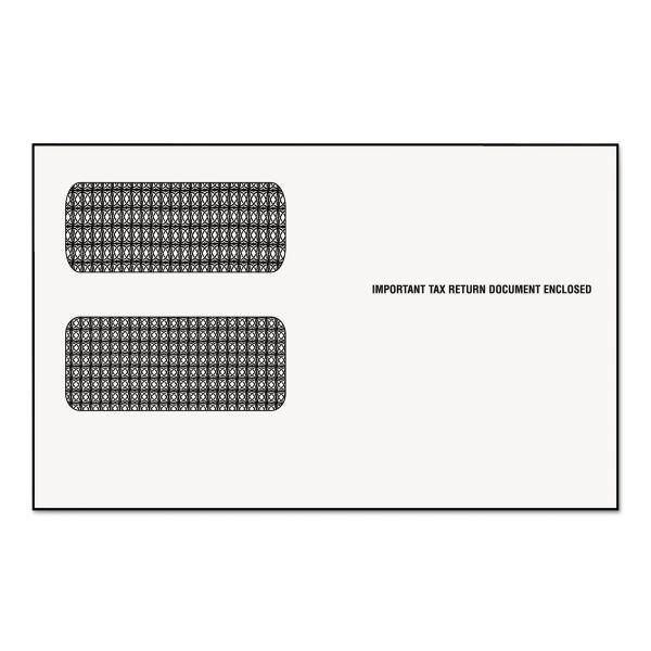 TOPS Double Window 1099 Envelopes