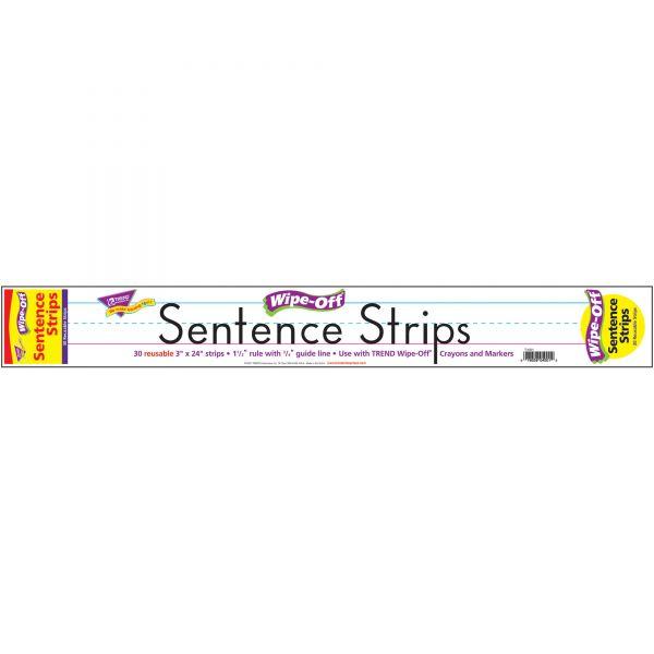 Trend Wipe-Off Sentence Strips