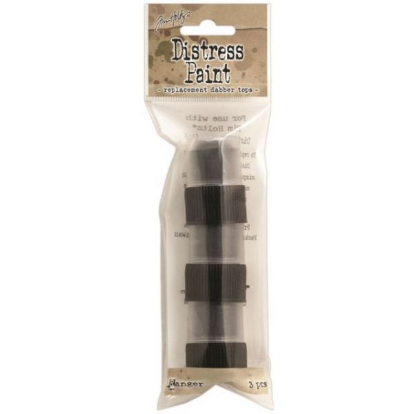 Tim Holtz Distress Paint Dabber Replacement Tops 3/Pkg
