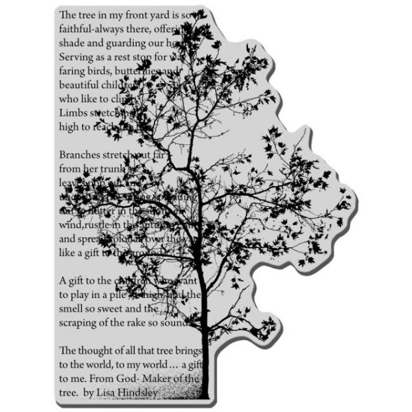 """Stampendous Cling Rubber Stamp 4""""X6"""" Sheet"""