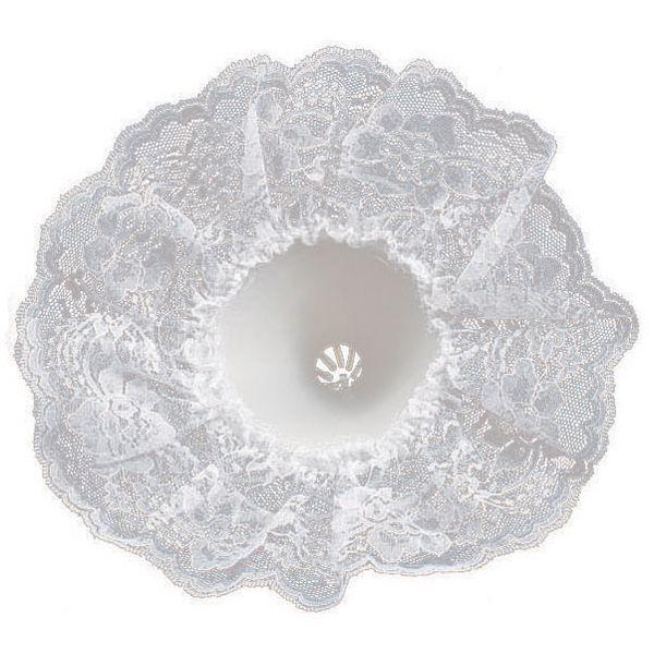 "Bouquet Holder Lace Collar 9"" Bulk"