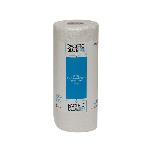 Georgia Pacific Professional Pacific Blue Select Perforated Paper Towel, 8 4/5 x 11, 2-Ply, White, 85 Sheets/Roll, 30 Rolls/Carton