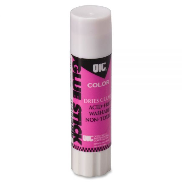 OIC Disappearing Color Glue Sticks