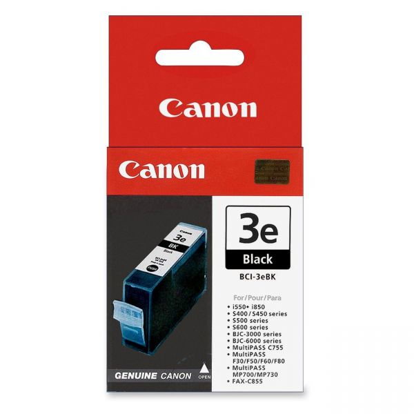 Canon BCI-3eBK Black Ink Cartridge (4479A003)