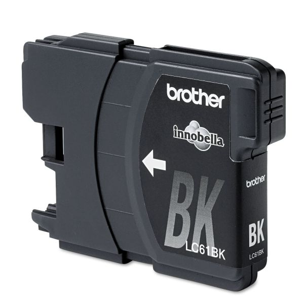 Brother LC61BK Innobella Ink, Black