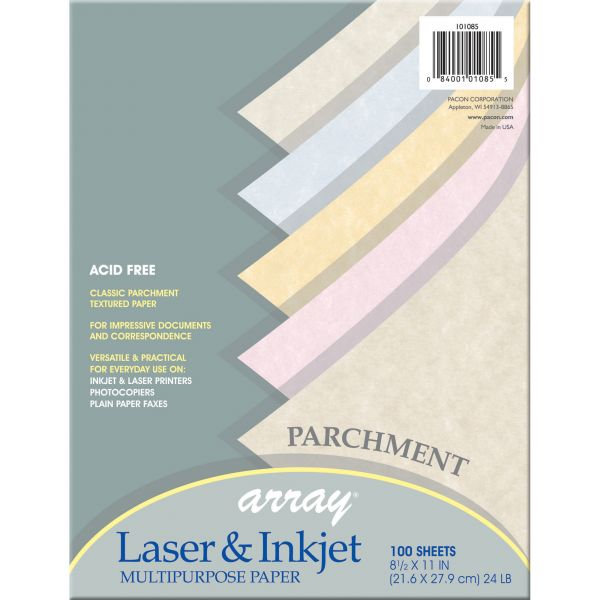 Pacon Array Colored Parchment Paper