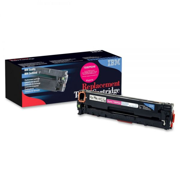 IBM Remanufactured HP CE323A Magenta Toner Cartridge