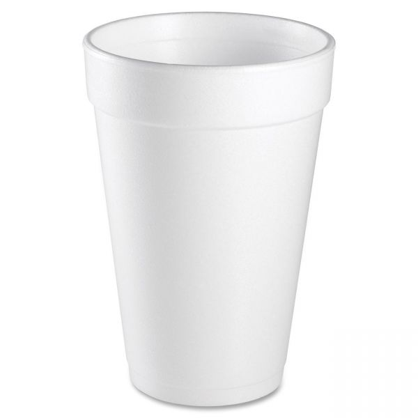 Dart Insulated 16 oz Styrofoam Cups