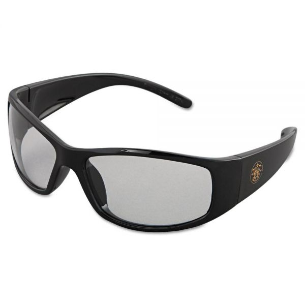 Smith & Wesson Elite Safety Eyewear, Black Frame, Clear Anti-Fog Lens
