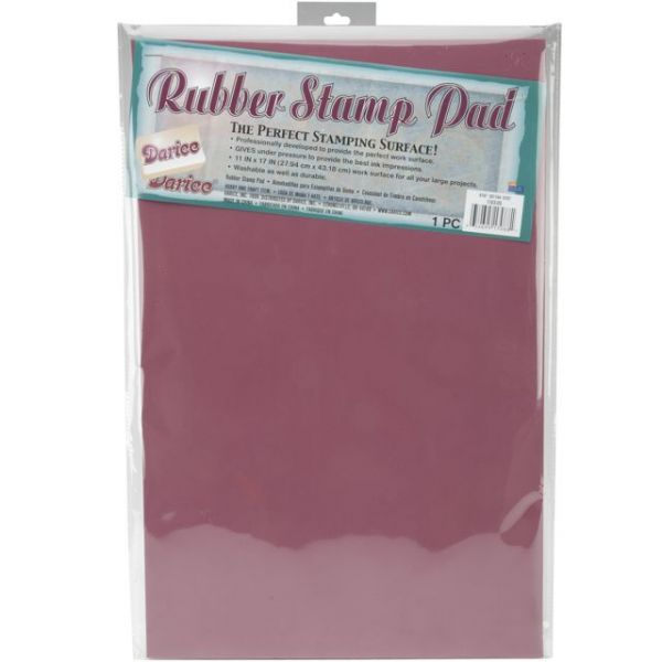 "Rubber Stamping Mat 11""X17"""