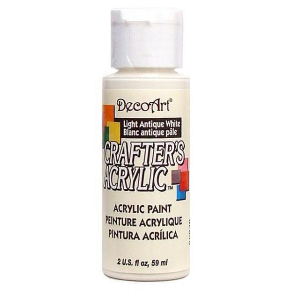 Deco Art Crafter's Acrylic Light Antique White Acrylic Paint
