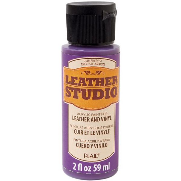 FolkArt Leather Studio Amethyst Acrylic Paint