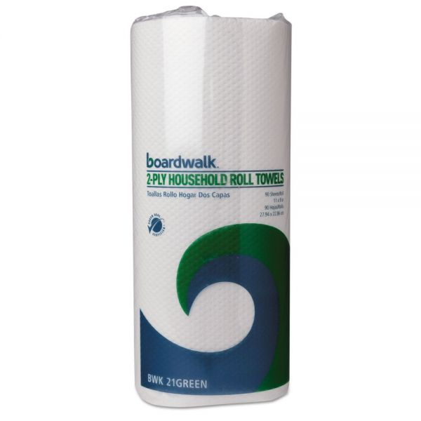 Boardwalk Green Household Paper Towels