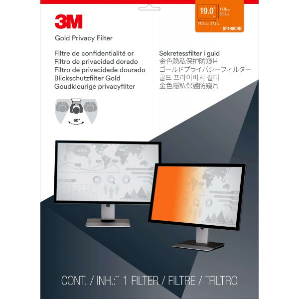 3M Gold Privacy Filter-3M GPF19.0 (5:4)