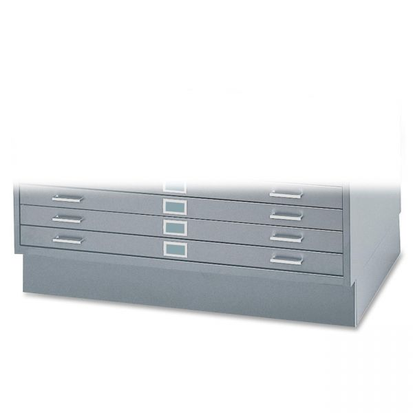 """Safco 6"""" High Base for 5-Drawer Steel Flat Files"""