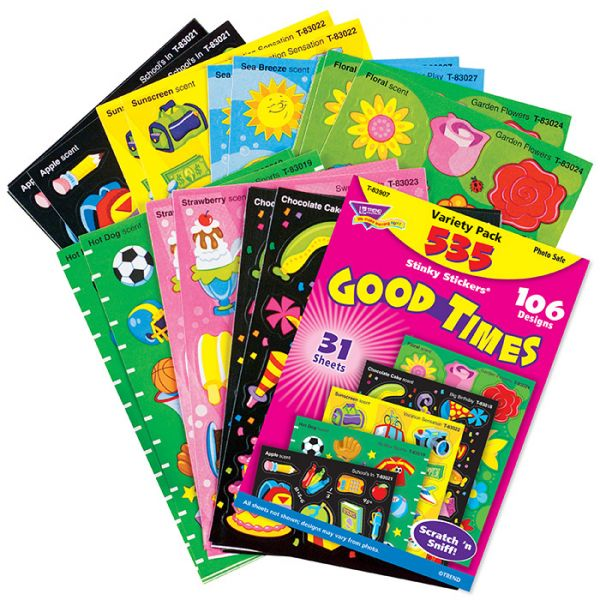 Trend Good Times Stinky Stickers Variety Pack