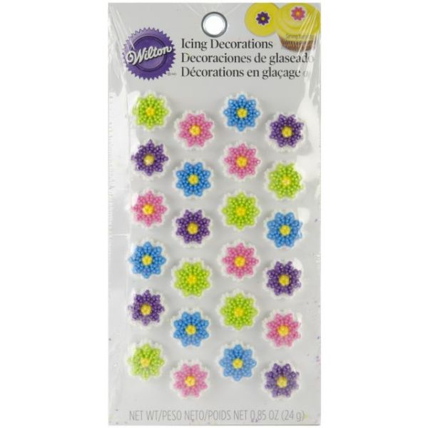 Icing Decorations 24/Pkg