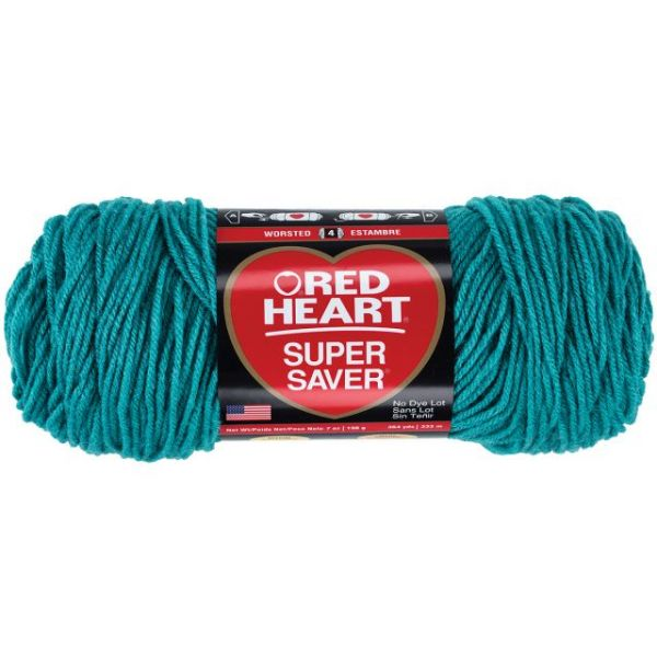 Red Heart Super Saver Yarn - Jade