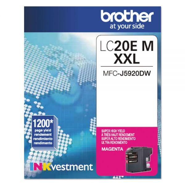Brother LC20EM Magenta Innobella Super High-Yield Ink Cartridge