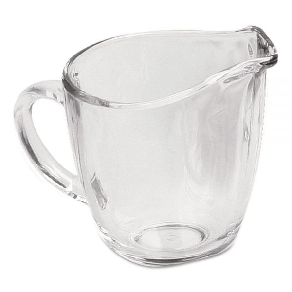 Anchor Presence Glass Creamer, 11 oz, Clear, 4/Carton