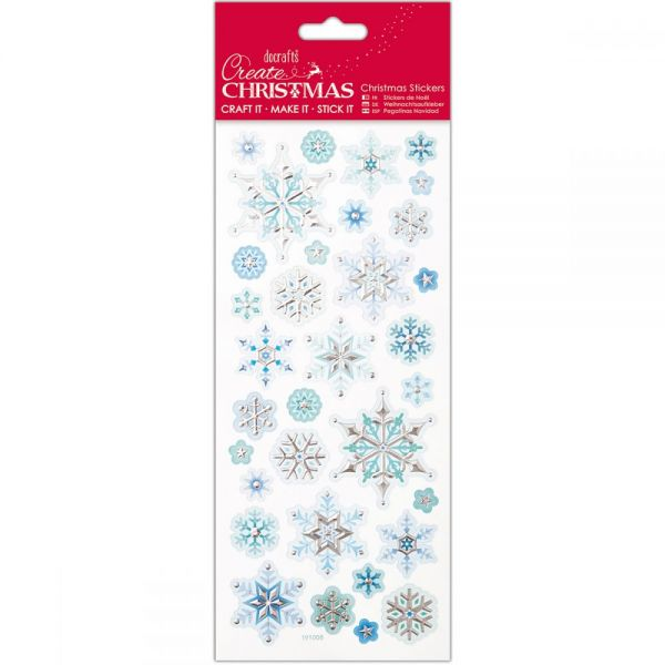 Papermania Create Christmas Foiled & Embossed Stickers