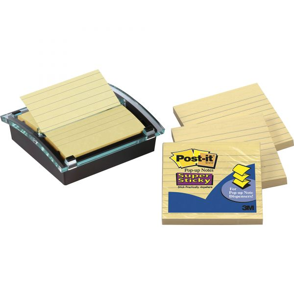 Post-it Super Sticky Pop-up Notes and Dispenser