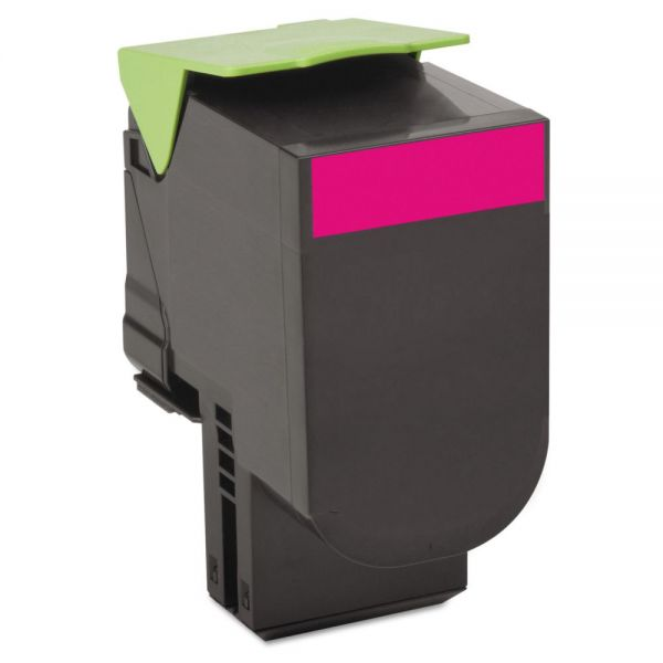 Lexmark 80C10M0 Magenta Return Program Toner Cartridge