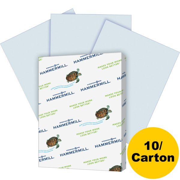 Hammermill Recycled Colored Paper - Blue