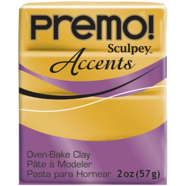 Premo! Sculpey Accents Polymer Clay