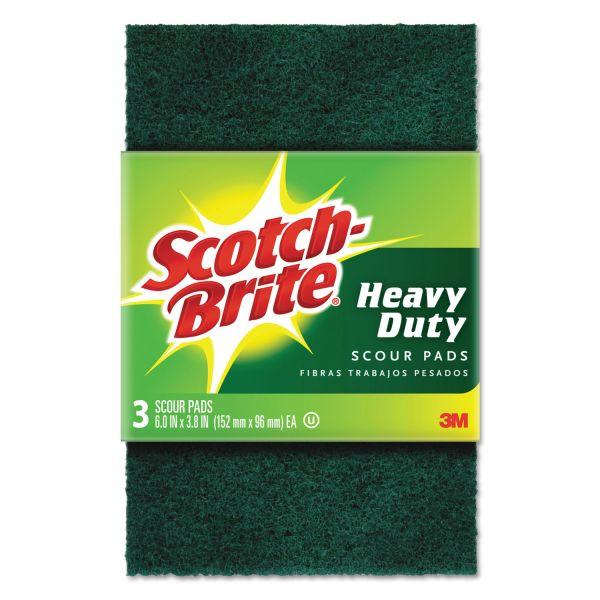 Scotch-Brite -Brite Heavy Duty Scour Pads