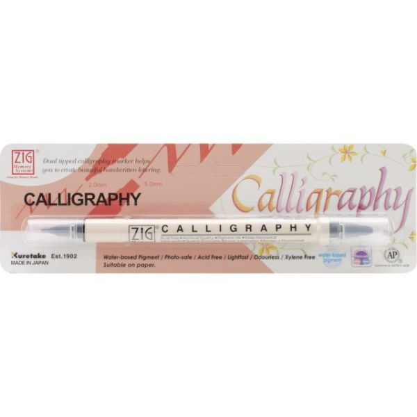 Zig Calligraphy Dual-Tip Marker (Packaged)