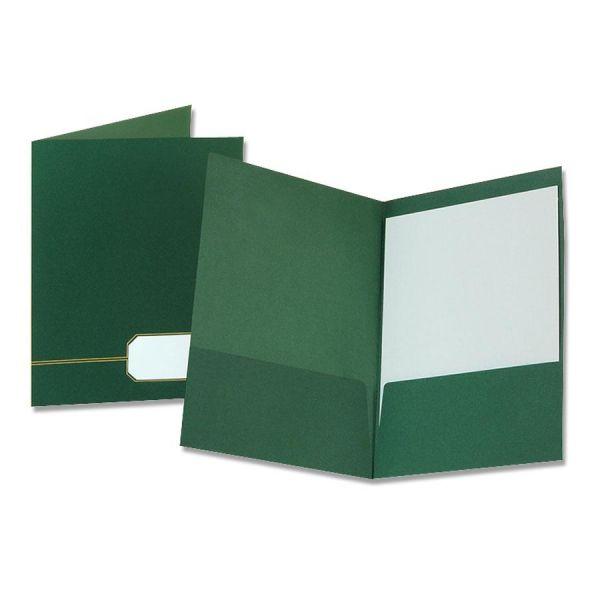 Oxford Monogram Executive 2-Pocket Portfolios