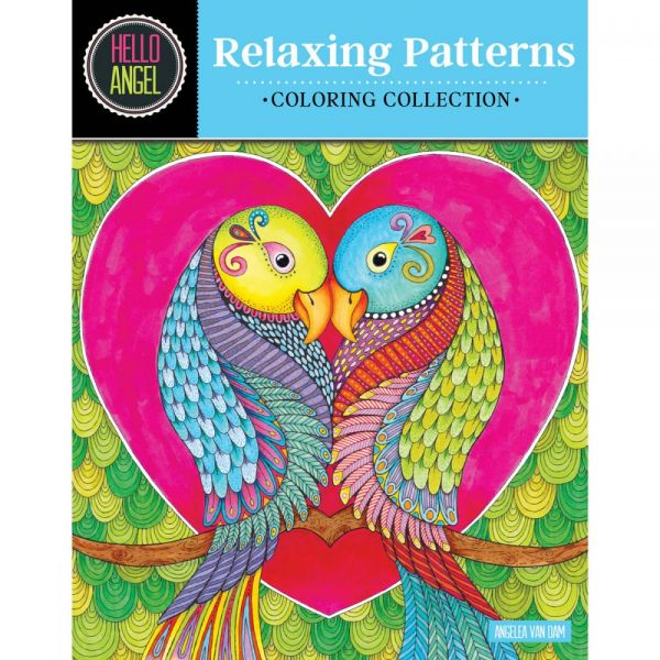 Design Originals: Relaxing Patterns Coloring Book